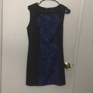 Forever 21 Black and Purple cocktail dress